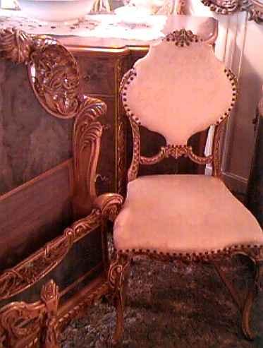 French Bedroom Slipper chair