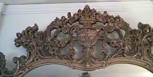 Close-Up of Mirror