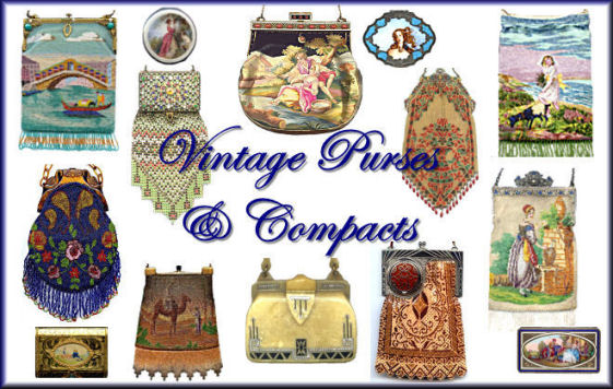 Vintage Purses and Compacts