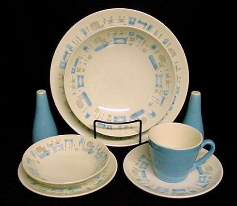 Blue Heaven China & Royal China Blue Heaven Dishes