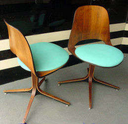 Norman Cherner Plycraft Chairs