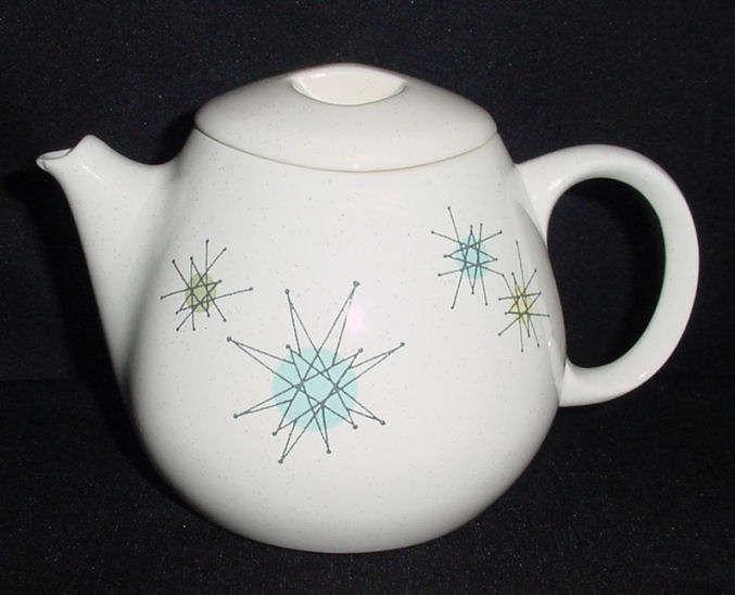 Franciscan Starburst Teapot