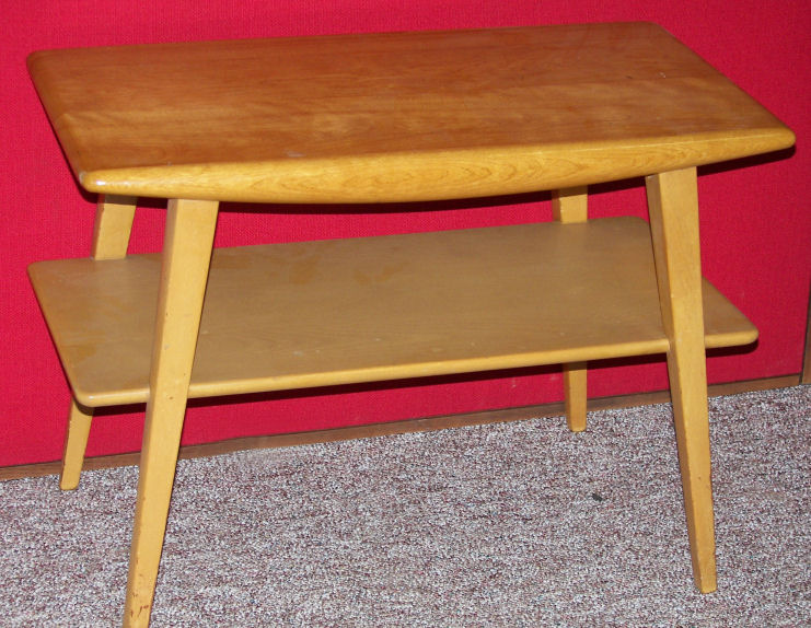 Heywood Wakefield Aristocraft End Table #CM372G