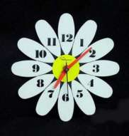 Ingraham Flower Power Clock