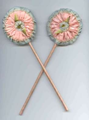 Powder Patter & Mirror Set