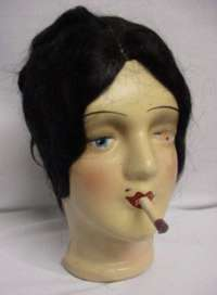 Smoking Boudoir Doll Head