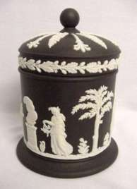 Wedgwood Basalt Cigarette Box
