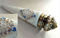 Sterling Silver Jeweled Perfume