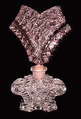 Czech Crystal Perfume with Pink Top