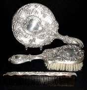 Gorham Sterling Silver Vanity Set