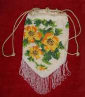Child's Beaded Purse