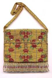 French Steel Beaded Envelope Purse
