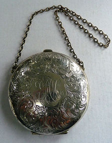Watrous Sterling Silver Ornate Vanity Purse