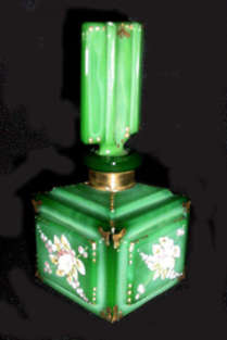 Malachite Glass Perfume