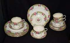 Paragon Tapestry Luncheon Set - Click for More Pics