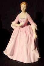 Royal Doulton Hostess of Williamsburg