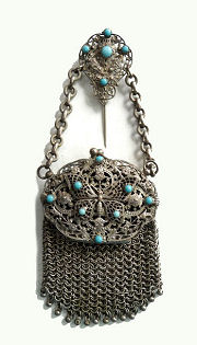 Evans Jeweled Vanity Purse
