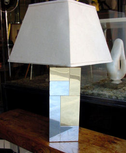 Paul Evans Cityscape Lamp