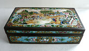 Figural Chinese Enameled Jewelry Casket