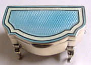 Sterling Silver Jewelry Casket