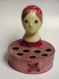 I.W. Rice Lipstick Holder