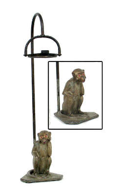 Deco Monkey Smoking Stand