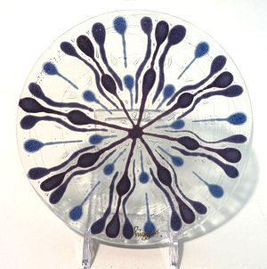 Higgins Glass Dish ... click on image for more photos.