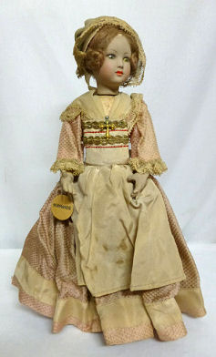 French Normandie Doll