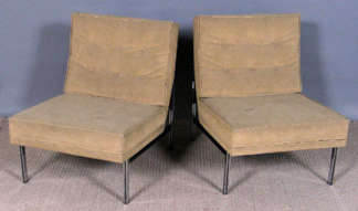 Knoll Parallel Bar Chairs
