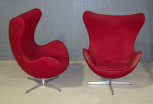 Jacobsen Egg Chairs