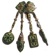 Jeweled Chatelaine