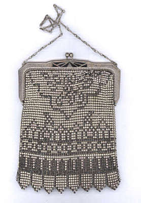 Whiting and Davis Beadlite Mesh Purse