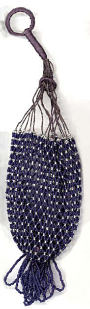 Beaded Reticule