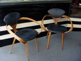 Pair of Plycraft Chairs