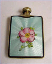Enamel Guilloche Double Purse Perfume