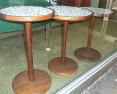 Martz Tile Top Tables