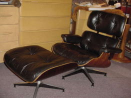 Eames 670 Lounge Chair and Ottoman