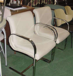 4 Brueton Chairs