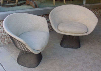 Warren Platner Lounge Chairs