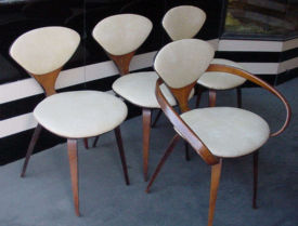 Norman Cherner Chairs by Plycraft