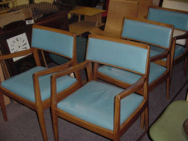 Jens Risom Chairs