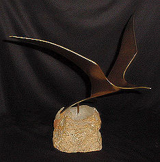 Jere' Seagull Sculpture