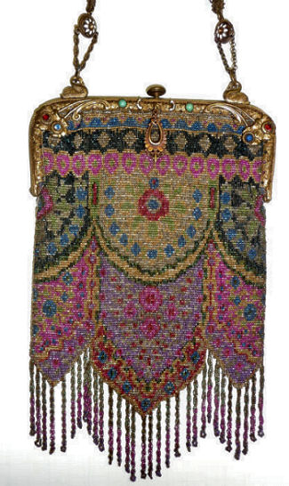Carpet Beaded Purse