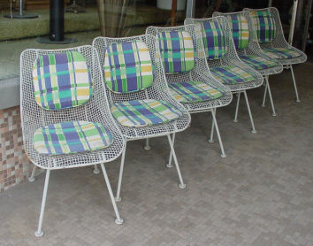Set of 6 Woodard Chairs