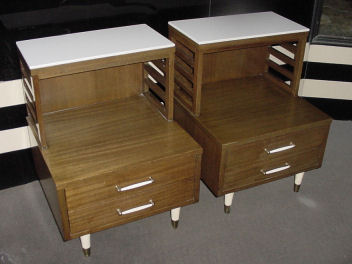 Pair of R-Way Nightstands