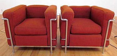 Corbusier Cassina LC2 Armchairs