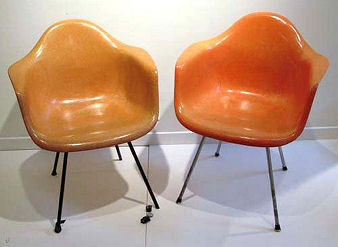 Eames Shell Armchairs