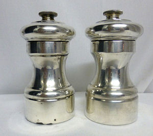 Sterling Salt and Pepper Mill