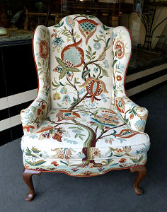 Mary Webb Wood Chair