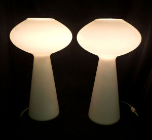 Pair of Lisa Johansson-Pape Lamps